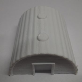 N Scale Unpainted Pig Hut